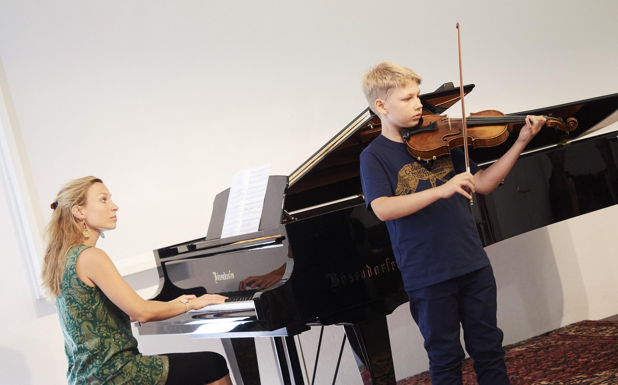 Konzert der Kurse für Kinder und ihre Eltern