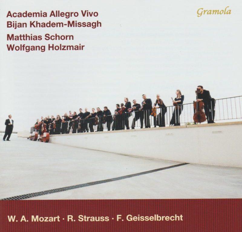 """CD """"Mozart - Strauss - Geisselbrecht"""""""