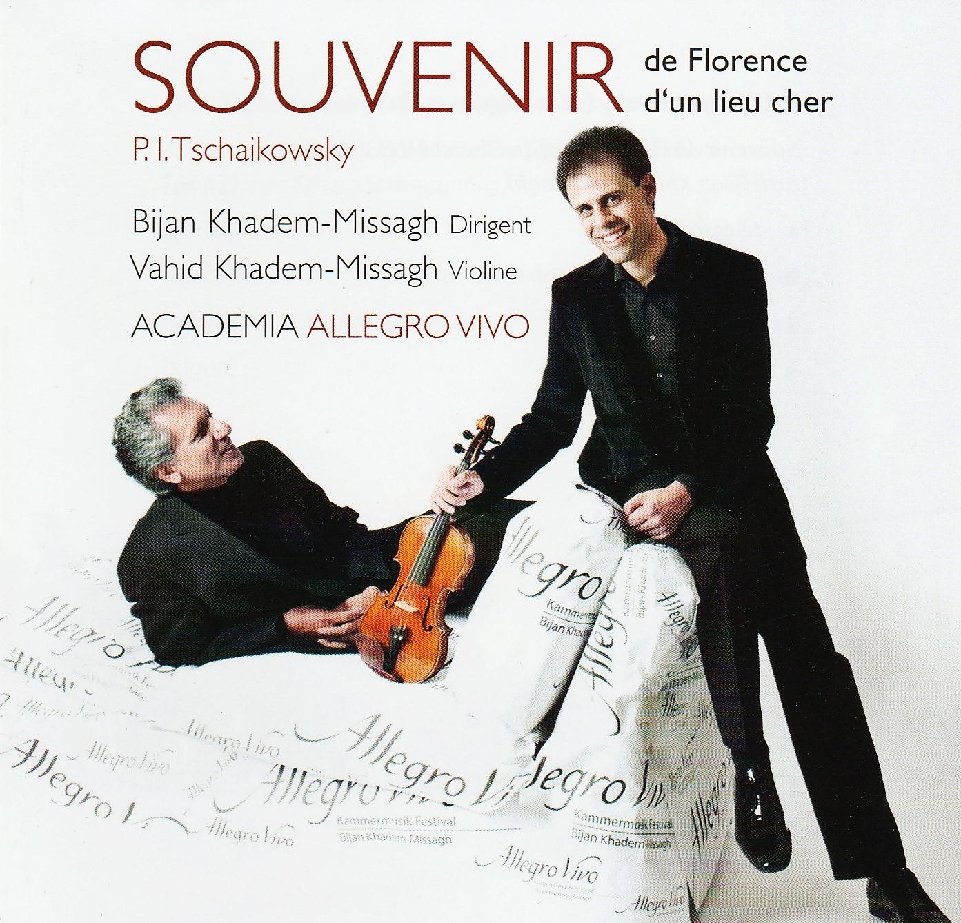 """CD """"Tschaikowsky:Souvenir"""""""