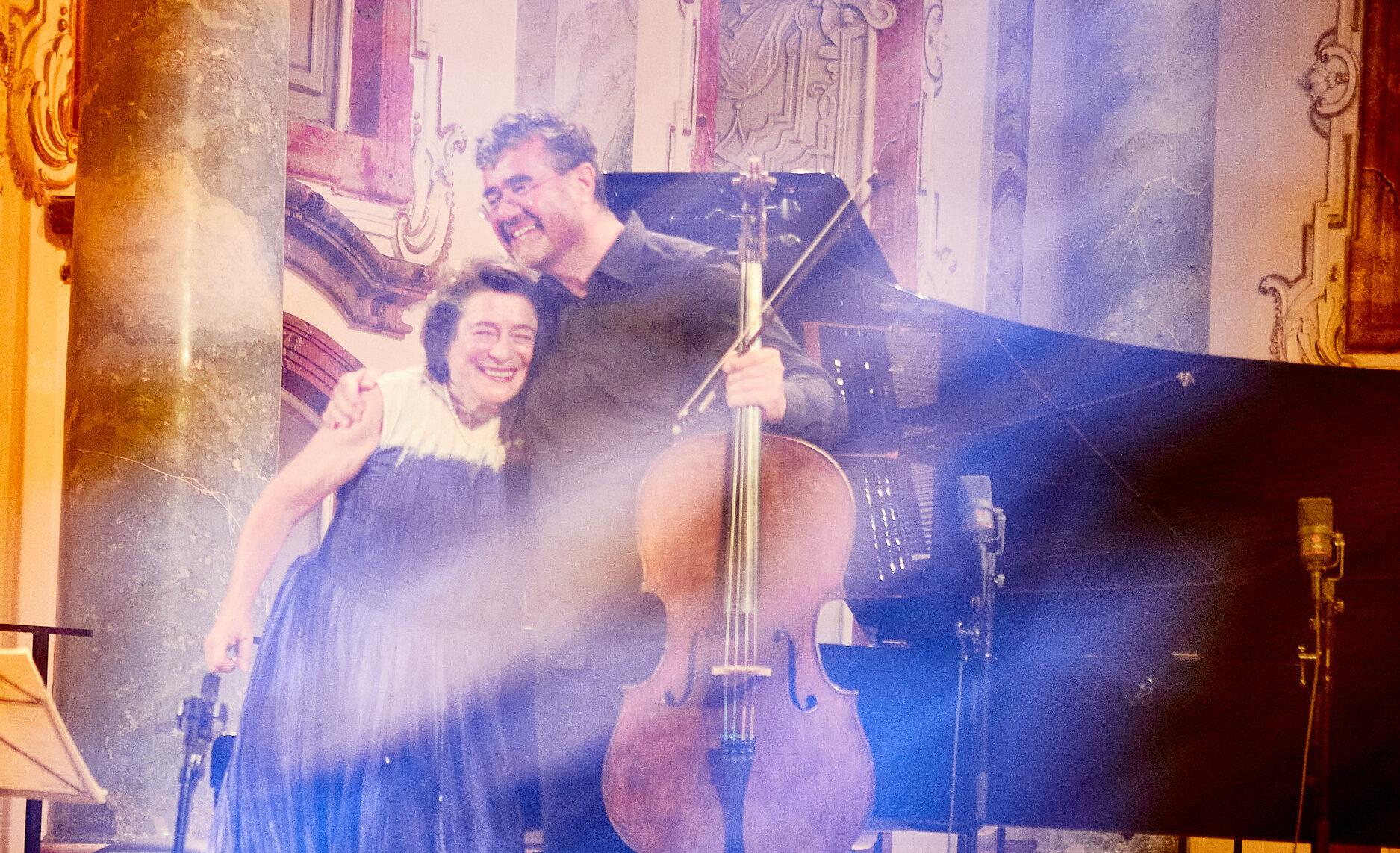 Leonskaja, Demenga, Allegro Vivo Festival