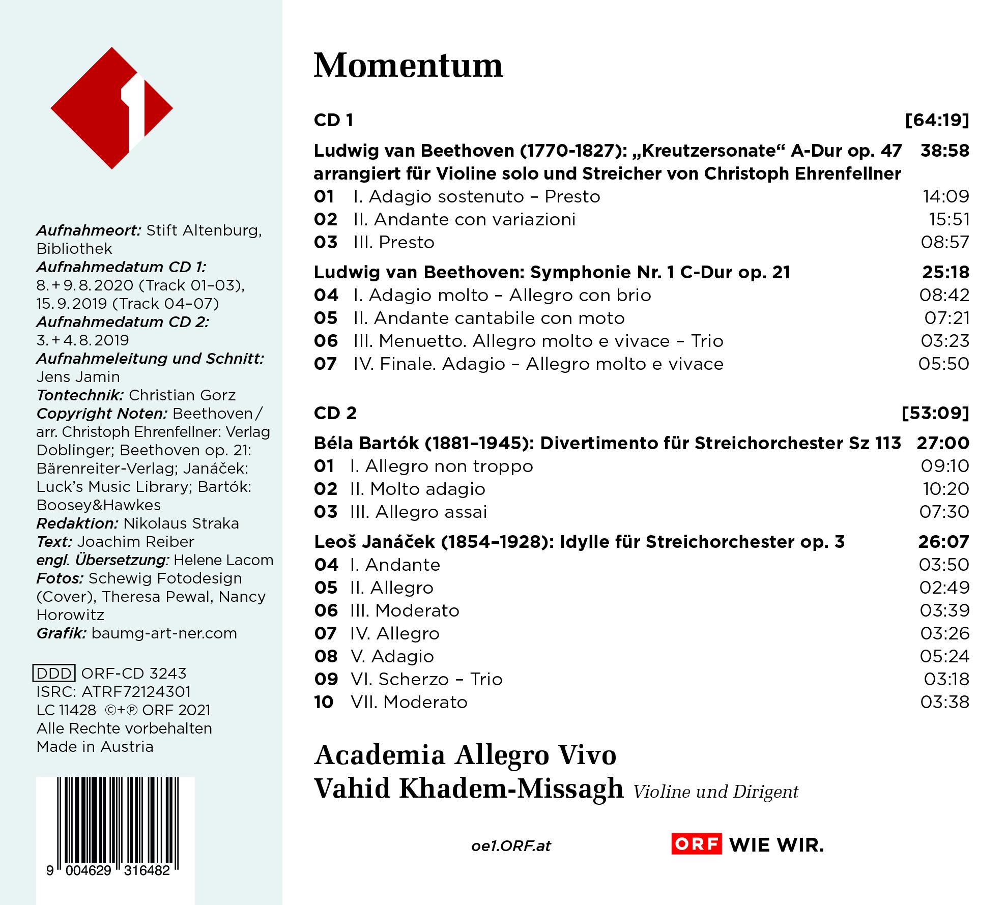 CD Momentum